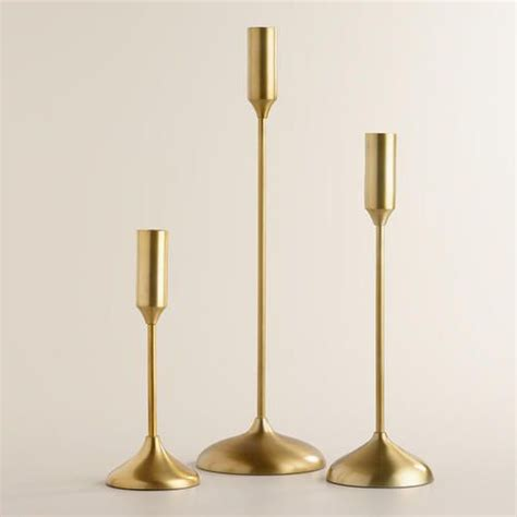 Candles For Holders 1000 Ideas About Taper Candle Holders On