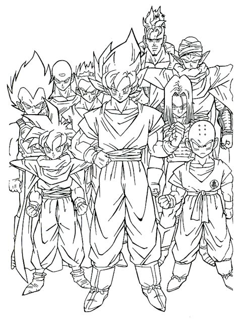 Dragon Ball Z Gt Coloring Pages Coloring Home Gt Coloring Pages