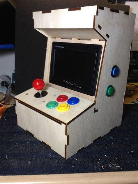 mame arcade cabinet raspberry pi cabinets matttroy