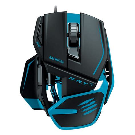 Dijamin Madcatz R A T 3 Black Gaming Mouse mad catz r a t tournament edition gaming mouse azul