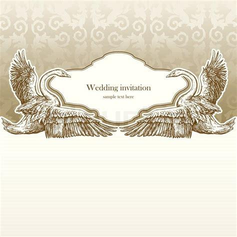 Wedding Invitation Letter Background vintage wedding invitation card antique background