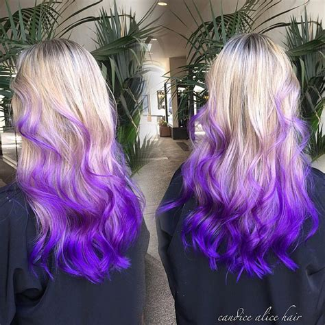 purple and blonde hairstyles 20 purple ombre hair color ideas love this hair of purple