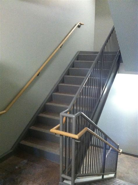 commercial metal stair railing www imgkid the