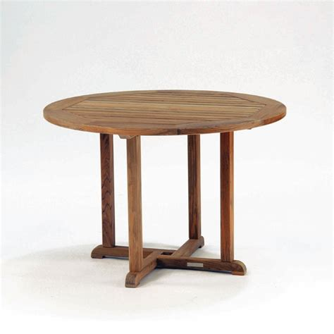 Kingsley Bate Essex 50 Quot Round Dining Table Leisure Living 50 Dining Table