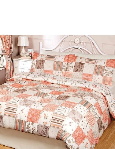 Patchwork Quilt Cover - toile patchwork quilt cover set chums