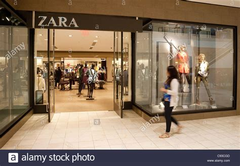 Garden State Mall Zara Zara Fashion Store Montgomery Shopping Mall Washington