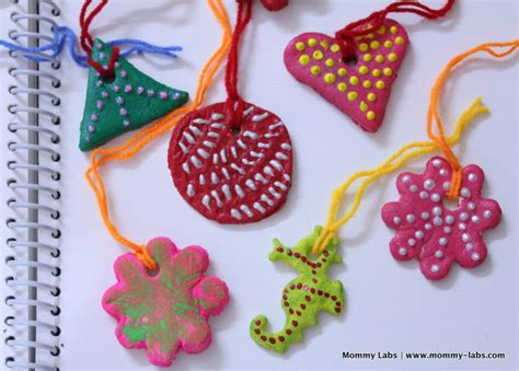 arts and crafts for ornaments salt dough ornaments artful and easy for
