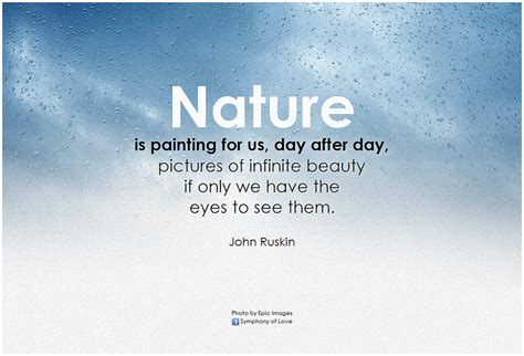 john ruskin nature is painting for us day after day pict
