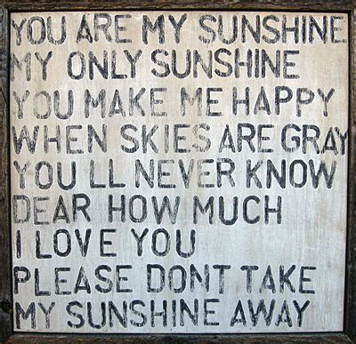 that makes me your dad lyrics you are my sunshine reclaimed wood wall art twinkle