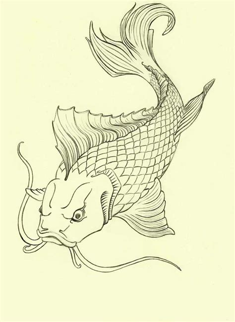 Tattoo Carpe Koi Noir Et Blanc | 18 best ideas about carpe koi on pinterest koi fish