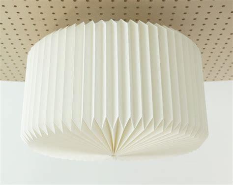 Origami Paper L Shade - ramekin origami paper ceiling l shade white