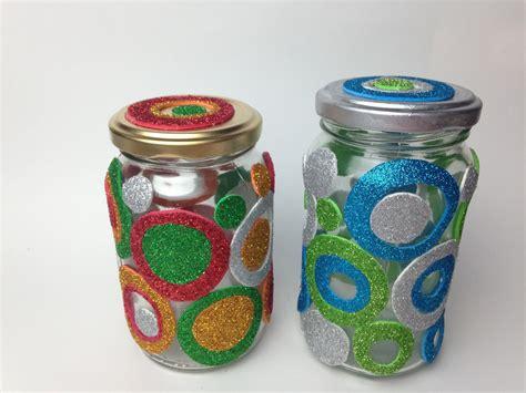 frascos decorados regalo disfruta creando
