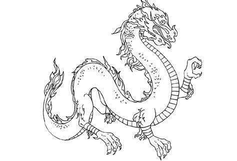 coloring page chinese dragon chinese dragon coloring pages az coloring pages