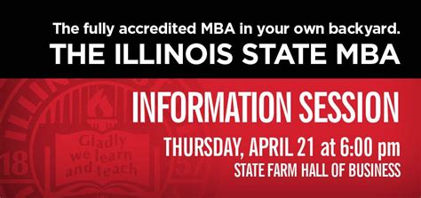 Isu Chicago Mba Program by Mba Information Session College Of Business