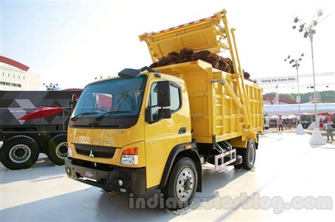 mitsubishi truck indonesia india made 12t 25t fuso trucks unveiled iims 2014