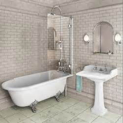 Shower And Bath Burlington Traditional Hampton Bath Shower And Basin Suite