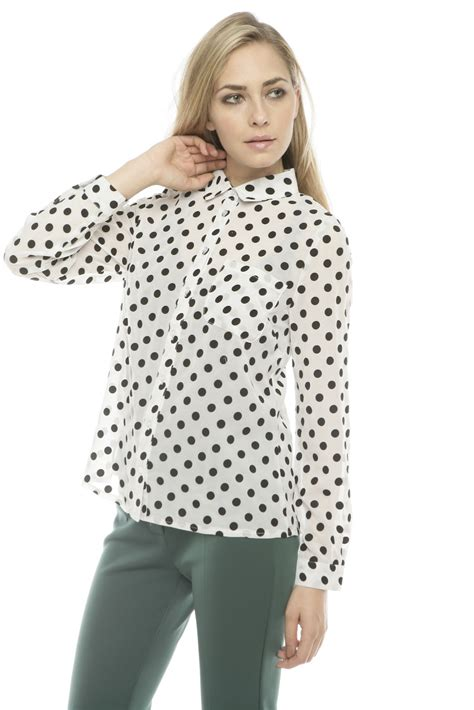 Blouse Polka lovely polka dot blouse from bucktown by dress up