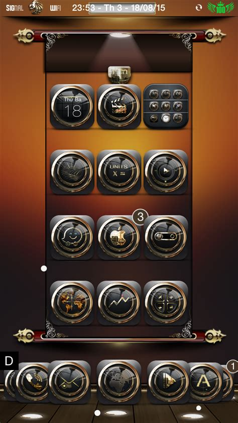 gold themes ios 8 lion d or ligth black gold ios8 theme page 60 modmyforums