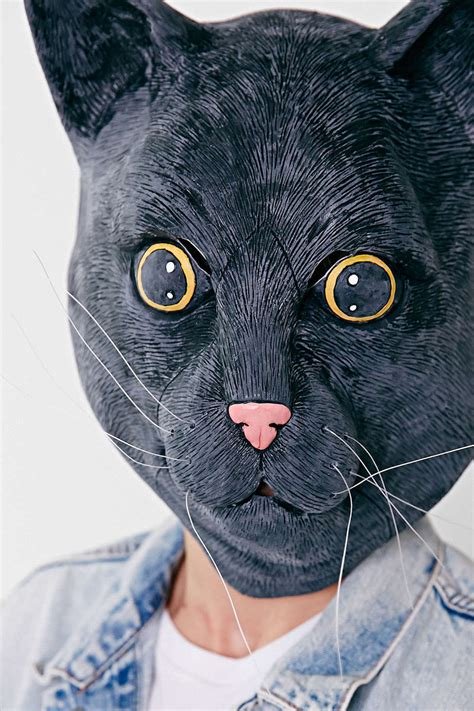 How To Make A Cat Mask Out Of Paper Plates - realistic cat masks realistic cat mask