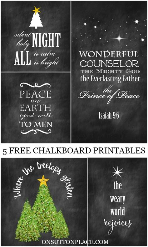 diy chalkboard printable 5 chalkboard printables on sutton place