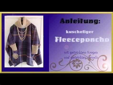 Poncho Aus Decke Machen by Aus Einer Wolldecke Einen Poncho N 228 Hen Doovi