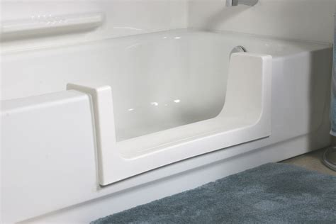step in bathtub cost safeway tub door safeway step 174 provide low cost quot aging in place quot solution for