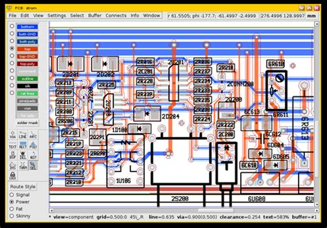 pcb layout software linux circuit design software on linux easyeda