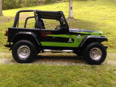 jeep energy 1994 jeep wrangler yj energy 4cyl 5 speed no