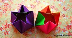 Polyhedron Origami For Beginners - how to make a paper shuriken origami