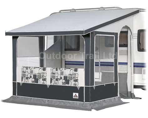 caravan porch awning sizes dorema oslo seasonal winter caravan porch awning charcoal size 3 300x200cm 2016 ebay
