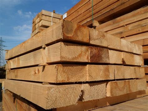 Railway Sleepers Corby railway sleeper timber merchant in corby uk