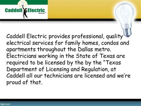 caddell electric electrician dallas tx electricians residential electrician in dallas