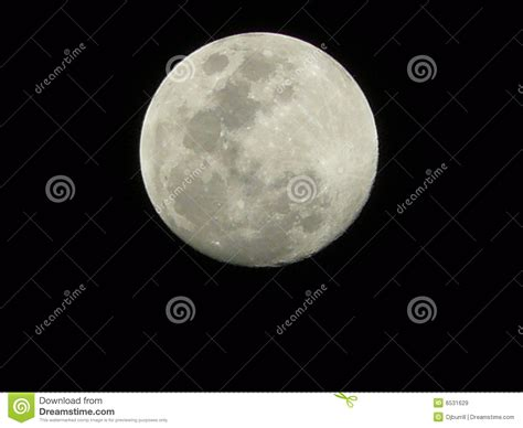 moon in black sky royalty free stock images image