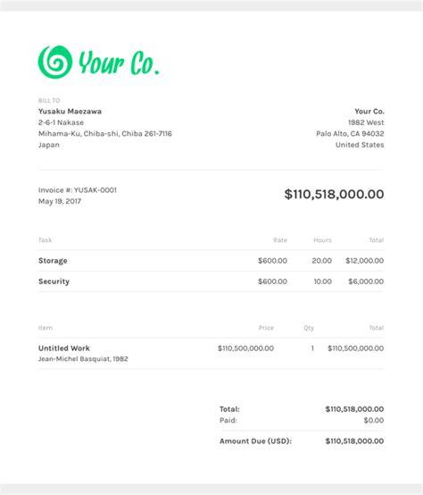 Free Creative Invoice Templates Zipbooks Freelance Animation Contract Template