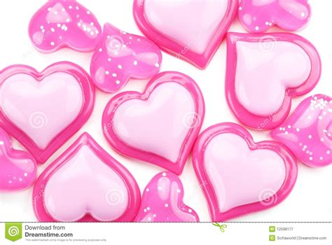 corazones brillantes free corazones brillantes free glossy pink hearts on a white background royalty free