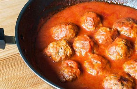 como cocinar albondigas alb 211 ndigas en salsa receta de alb 243 ndigas de carne f 225 ciles