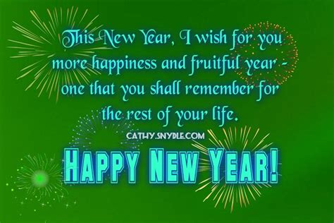 happy  year wishes  friends cathy
