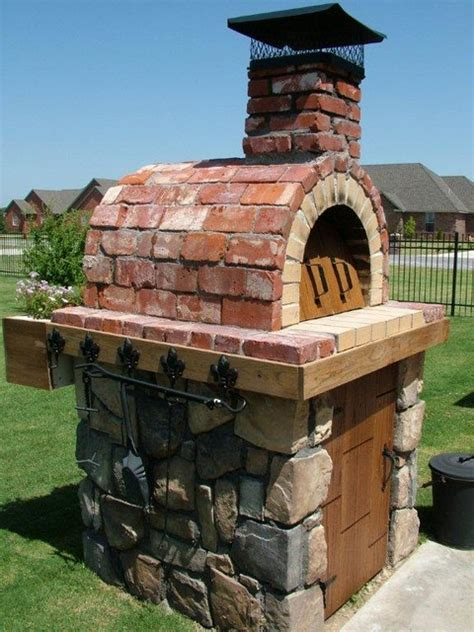 Build Wood Fired Pizza Oven Your Backyard by The Moon Family Diy Wood Fired Pizza Oven In Oklahoma By Brickwood Ovens Mediterranean