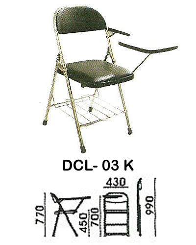 kursi kuliah indachi type dcl 03 k jual daftar harga