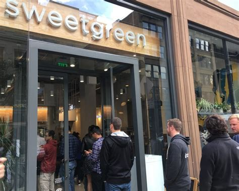 Out The Door Sf by Sweetgreen Out The Door Lines Greet Soma S Healthy