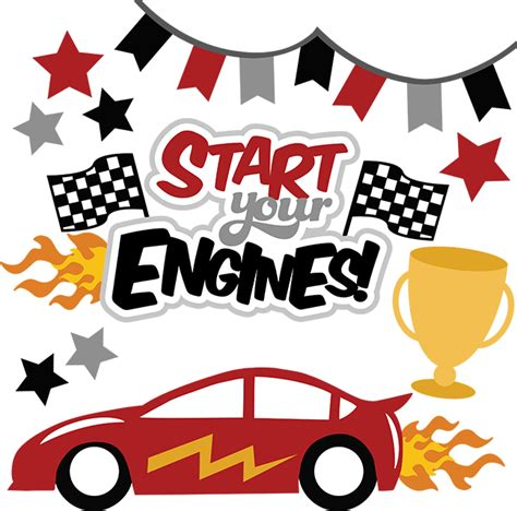 Start Your Engines by Start Your Engines Svg File For Scrapbooking Car Svg Files