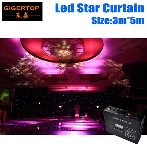 led video curtain price cheap price 3m 5m led star curtain for stage background