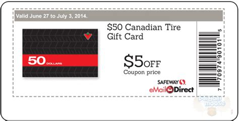printable gift cards canada canadian tire coupons sales bargainmoose canada