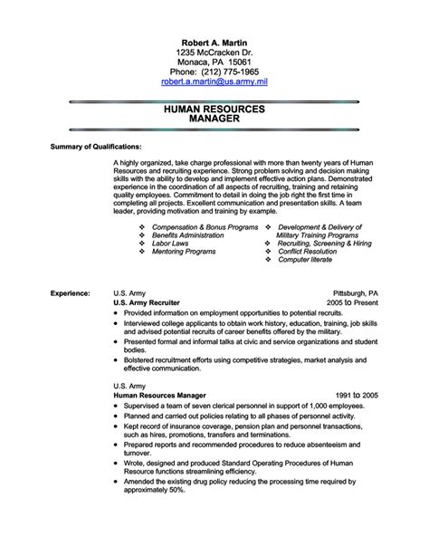 navy military resume template sample to civilian examples infantry