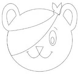 Pudsey Template Printables by Free Coloring Pages