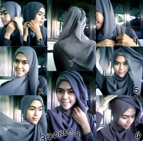 Jilbab Instant Kerudung Fashion Muslim Rempel Polos 1218 best hair covering images on styles and hijabs