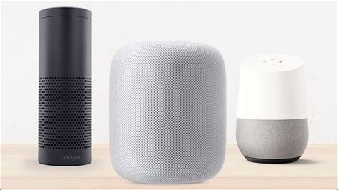 apple homepod vs echo vs home smart