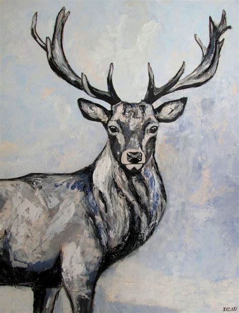 tattoo prices red deer red deer stag painting reddeer deer stag winter