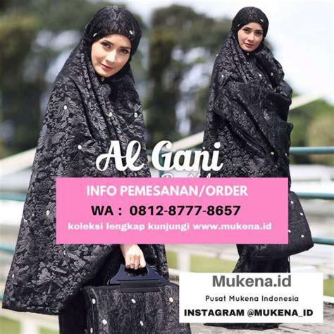 Mukena Al Gani Ruffle By Yulia 10 pabrik mukena al gani by yulia hubungi wa 0812 8777 8657