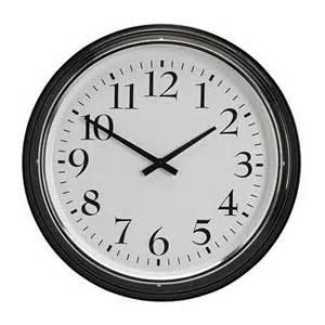 clock bravur wall clock ikea
